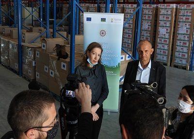 Evropska unija donirala 500 paketa stanovnicima romskih podstandardnih naselja